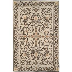 Safavieh Hand-hooked Chelsea Irongate Ivory Wool Rug (8'9 x 11'9)