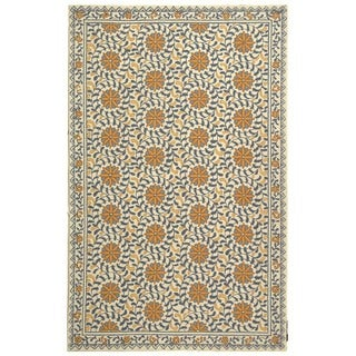 Safavieh Hand-hooked Chelsea Bliss Ivory Wool Rug (8'9 x 11'9)