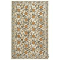 Safavieh Hand-hooked Chelsea Bliss Ivory Wool Rug - 8'9 X 11'9