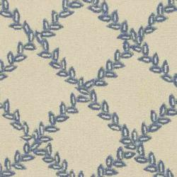 Safavieh Hand-hooked Trellis Ivory/ Light Blue Wool Rug (2'6 x 6') - Thumbnail 2