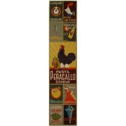 Safavieh Hand-hooked Vintage Poster Sage Wool Rug (2'6 x 12')