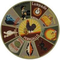 Safavieh Hand-hooked Vintage Poster Sage Wool Rug - 6' x 9'