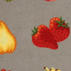 Safavieh Hand-hooked Chelsea Fruits Grey Wool Rug (8'9 x 11'9) - Thumbnail 2