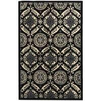 Safavieh Hand-hooked Chelsea Heritage Black Wool Rug - 3'9 x 5'9