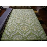 """Safavieh Hand-hooked Chelsea Heritage Green Wool Rug - 3'-9"""" x 5'-9"""""""