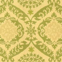 Safavieh Hand-hooked Chelsea Heritage Beige Wool Rug (7'6 x 9'9) - Thumbnail 2
