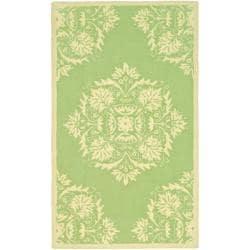 Safavieh Hand-hooked Chelsea Green Wool Rug (2'9 x 4'9)