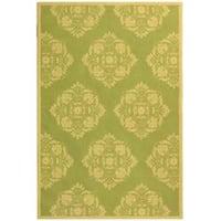 Safavieh Hand-Hooked Chelsea Green Wool Area Rug - 7'6' x 9'9'