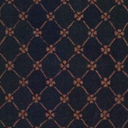Safavieh Hand-hooked Pineapples Black Wool Rug (7'6 x 9'9) - Thumbnail 2
