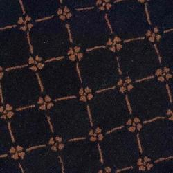 Safavieh Hand-hooked Pineapples Black Wool Rug (8' Round) - Thumbnail 2