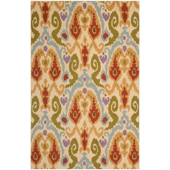 Safavieh Hand-hooked Chelsea Ivory Wool Rug (3'9 x 5'9)