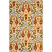 Safavieh Hand-hooked Chelsea Ivory Wool Rug - 7'6 x 9'9