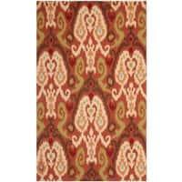 Safavieh Hand-hooked Chelsea Rust Wool Rug - 7'6 x 9'9