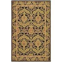Safavieh Hand-hooked Chelsea Black Wool Rug - 8'9 X 11'9