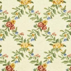 Safavieh Hand-hooked Garden Trellis Ivory Wool Rug (5'3 x 8'3) - Thumbnail 2