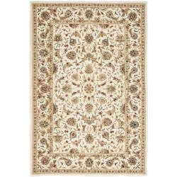 Safavieh Hand-hooked Chelsea Tabriz Ivory Wool Rug (5'3 x 8'3)