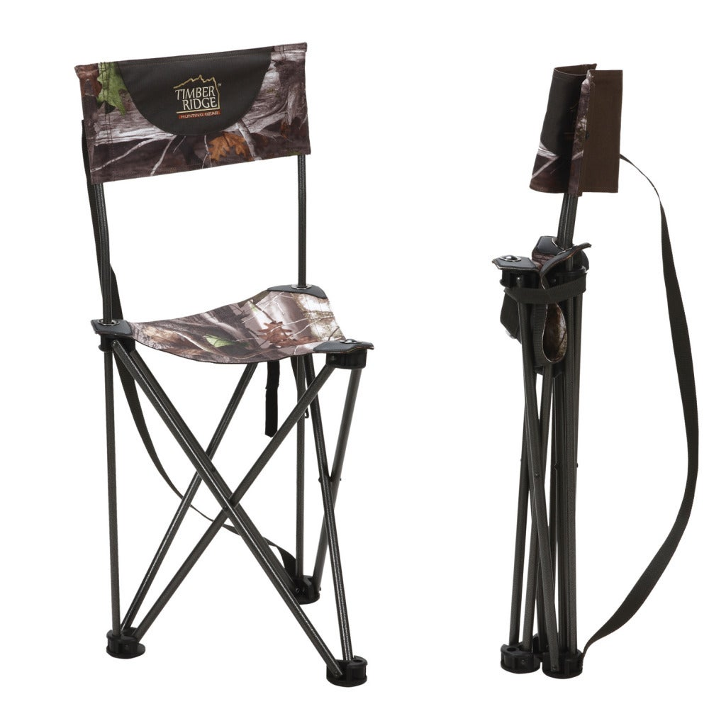 Timber Ridge by Texsport Infinity Camo Tri Pod Blind Chair