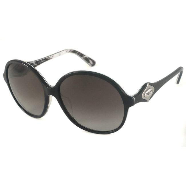 Emilio Pucci Women's EP675S Round Plastic Sunglasses