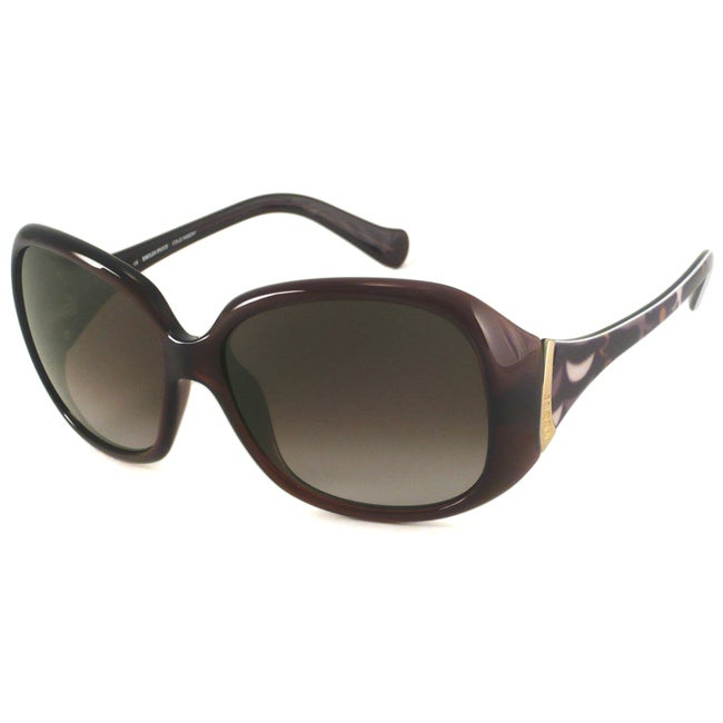 Emilio Pucci Women's EP649S Oversized Rectangular Sunglasses