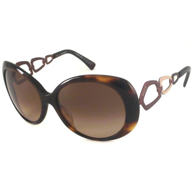 Emilio Pucci Women's EP624S Oval Sunglasses
