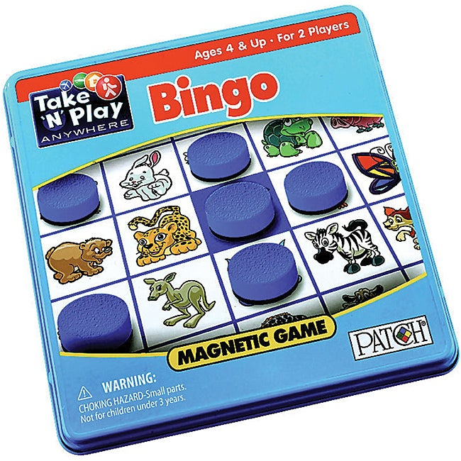 Patch Products Bingo Game