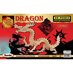 3D Dragon 148 -pieceJigsaw Puzzle