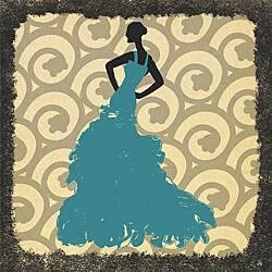 Ankan 'Gala Dress 2' Gallery-wrapped Canvas Art