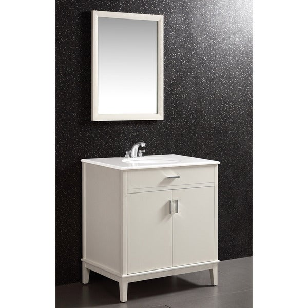 30 inch white bathroom vanity oxford white 30 inch bath vanity with 2 doors and white 21803