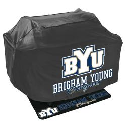 Brigham Young Cougars Grill Cover and Mat Set