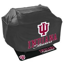 Indiana Hoosiers Grill Cover and Mat Set - Thumbnail 0