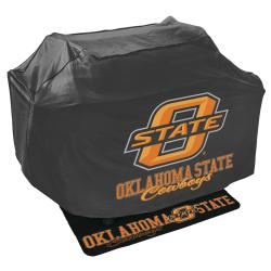 Oklahoma State Cowboys Grill Cover and Mat Set - Thumbnail 0