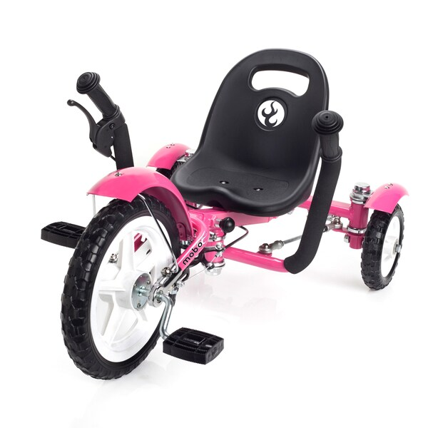 Mobo Tot A Toddlers Ergonomic Three Wheeled Pink Cruiser