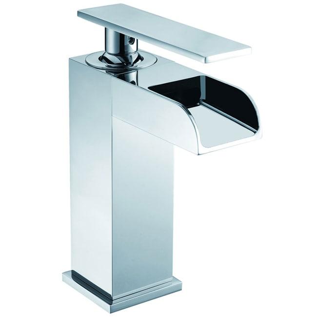 CAE Single-Handle Chrome-Finished Bathroom Sink Faucet