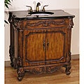 Legion Furniture Traditional Style 36-inch Granite Top Single Sink Bathroom Vanity