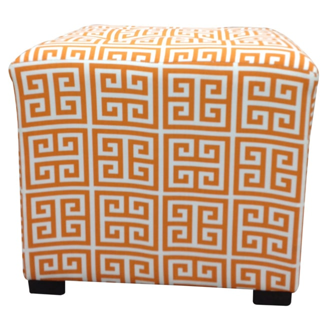 Amelia Chain Square Tufted Ottoman - Thumbnail 0