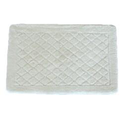 Solid White Memory Foam 20 x 32 Bath Mat