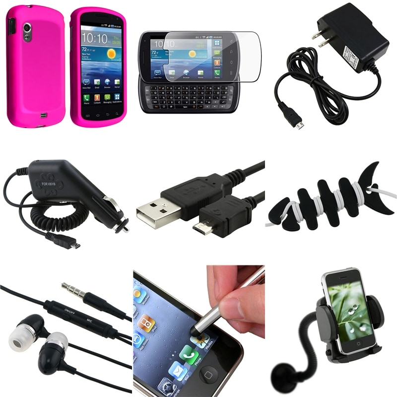 Easy-to-Grip Case/Charger/Cable/Headset/Protector for Samsung Stratosphere i405