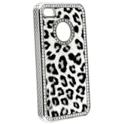 Purple/ Brown/ Gray/ Colorful Leopard Case for Apple iPhone 4/ 4S - Thumbnail 1