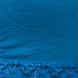 24/7 Frenzy Women's Blue Lace Trim Camisole