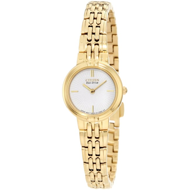 Citizen Women's Eco-Drive Silhouette Stainless Steel Watch
