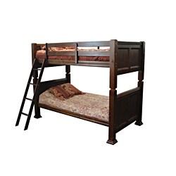 Troya Espresso Finish Twin/ Twin-size Bunk Bed