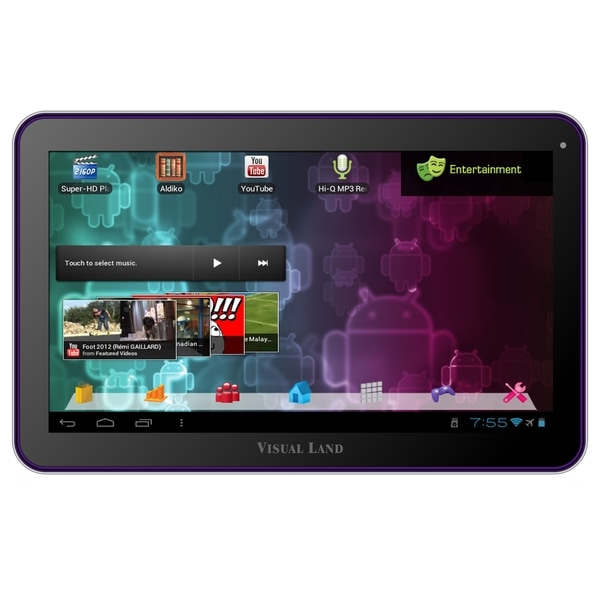 "Visual Land Prestige 10 ME-110-16GB 16 GB Tablet - 10"" 128:75 Multi-t"