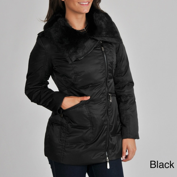 Vince Camuto Women's Asymmetrical Down-filled Jacket
