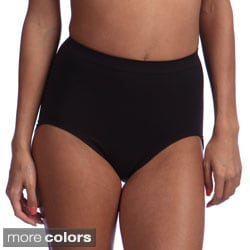 Bali Women's Seamless Firm Control Brief Shaper (Pack of 2)