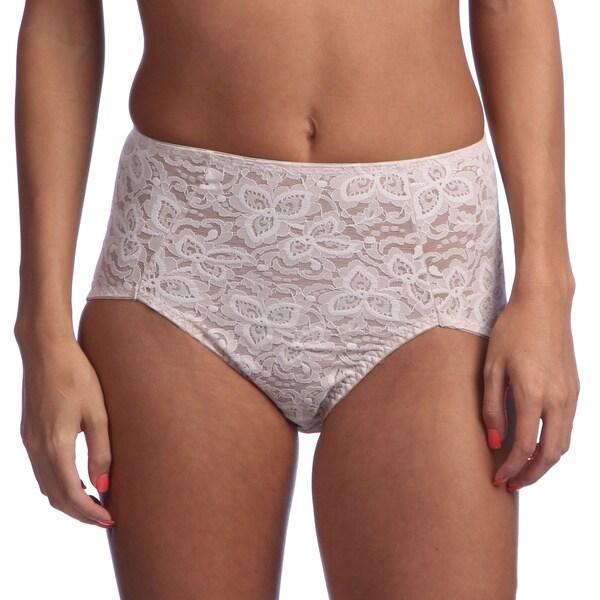 0b6f679b9c8 Shop Bali Women s Lace  N Smooth Brief Shaper - Free Shipping On ...
