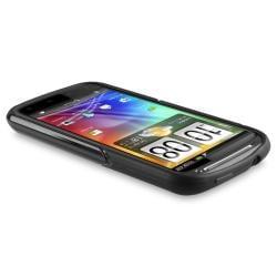 INSTEN Black TPU Case Cover/ Travel/ Car Charger for HTC Sensation XE - Thumbnail 2
