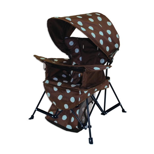 K Brown/Blue 'Go With Me' Chair