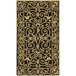 Safavieh Hand-hooked Chelsea Irongate Black Wool Rug (2'9 x 4'9)