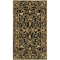 Safavieh Hand-hooked Chelsea Irongate Black Wool Rug - 2'9 x 4'9