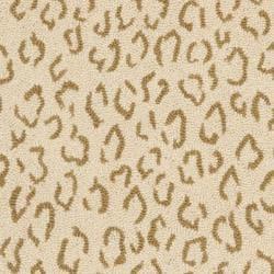 Safavieh Hand-hooked Chelsea Leopard Ivory Wool Rug (2'6 x 10') - Thumbnail 2